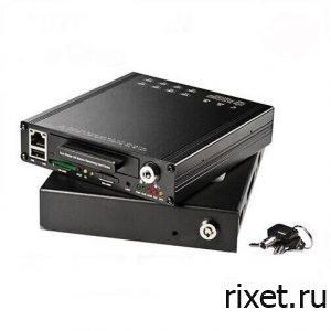4х канальный видеорегистратор для учебного автомобиля NSCAR 4K HDD Wi-Fi