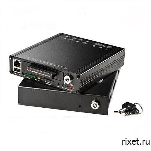 4х канальный видеорегистратор для учебного автомобиля RIXET 4K HDD Wi-Fi